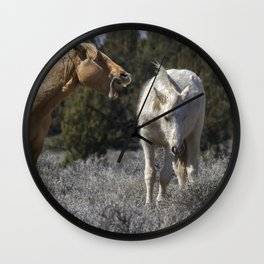 Getting an Earful from Dad Wall Clock