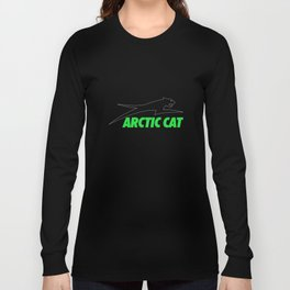 ARCTIC CAT HOODIE SWEAT UTV ATV SLED PROWLER SIDE BY SIDE SNOW MOBILE QUAD CAT Long Sleeve T-shirt