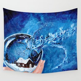 The Snow Globe Wall Tapestry