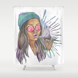 Miss Jane Shower Curtain