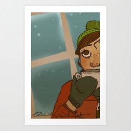 Cold.  Art Print