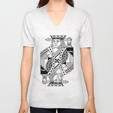Creativity Is King Unisex V-Neck
