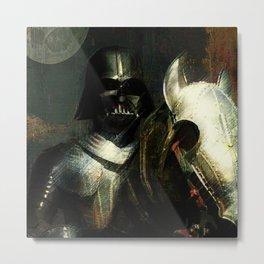 Knight Vader  Metal Print