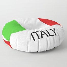 Italy flag Floor Pillow