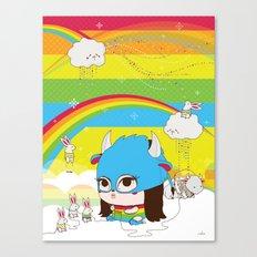 Buffa Buffalina Canvas Print