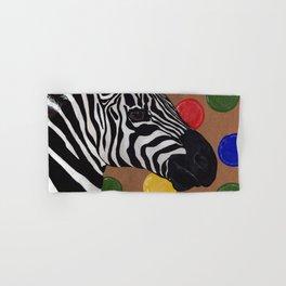 Zebra and Bubbles Hand & Bath Towel