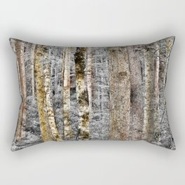 Camo In The Woods Rectangular Pillow