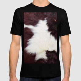 Cowhide Fur T-shirt