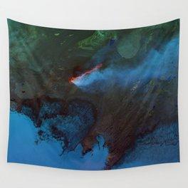 Foggy Ocean Wall Tapestry