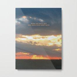 TFW Metal Print