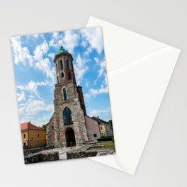 Mary Magdalene Church - Budapest, Hungary Stationery Cards
