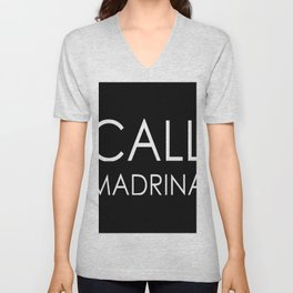 Custom Order - Call Madrina Unisex V-Neck