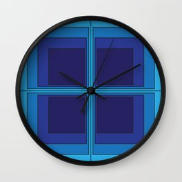 The Squares Are Stacked Against Us Wall Clock