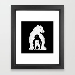 Arctic Friends Framed Art Print