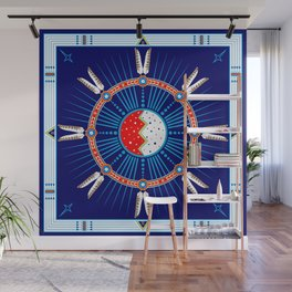 Crazy Horse Dreaming Wall Mural