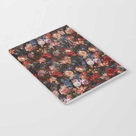 Vintage Summer Floral Notebook