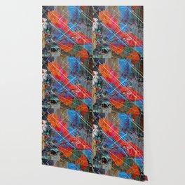 Canvas Abstract Tres Wallpaper