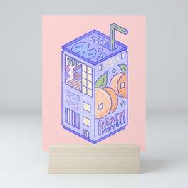 Peach Motel Mini Art Print