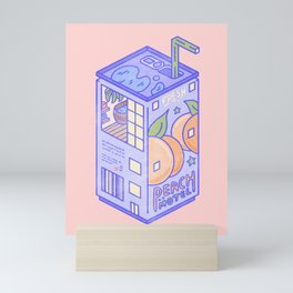 Peach Motel Mini Art Print