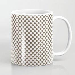 Sepia Polka Dots Coffee Mug