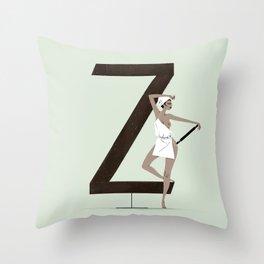 Zena & Meta Throw Pillow