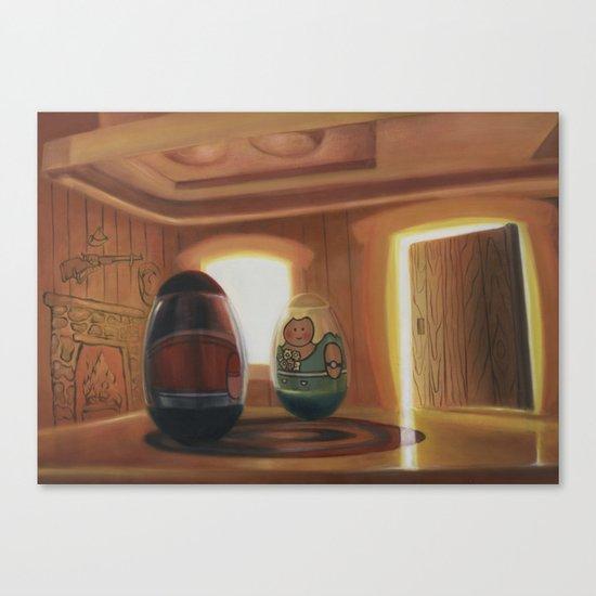 Weeburbia #3 Canvas Print
