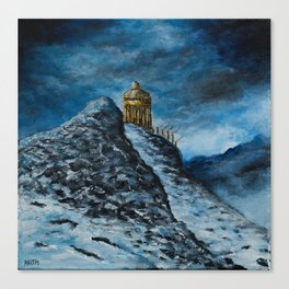 The Temple of Dionysus Canvas Print