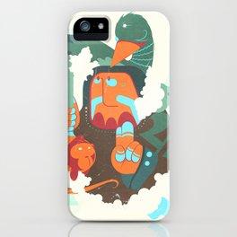 Mayan priest iPhone Case