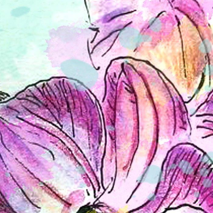 Orchids 02 Leggings