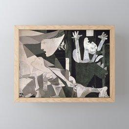 GUERNICA #2 - PABLO PICASSO Framed Mini Art Print