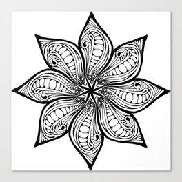 Flower vector image Canvas Print