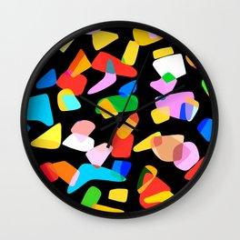 so many shapes Wall Clock