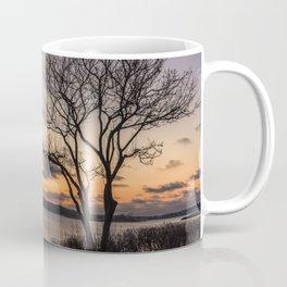 Tree silhouette at sunset Coffee Mug