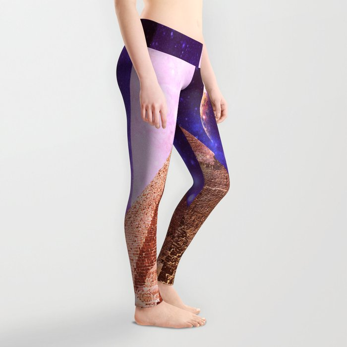 Galaxy Pyramids Leggings