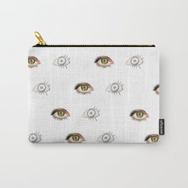 The Other Eye // drawing the reflection pet peeve Carry-All Pouch
