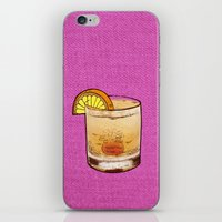 drink iPhone & iPod Skins featuring DRINK  by MR VELA