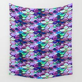 amethyist mermaid skin Wall Tapestry