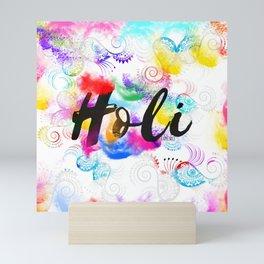 Holi Mini Art Print