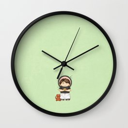 The Piemaker Wall Clock
