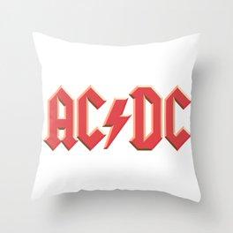 AC-DC Throw Pillow
