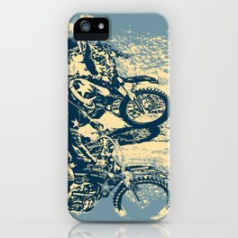 Dirt Track - Motocross Racing iPhone Case