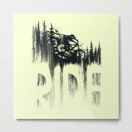 Ride and Drop Metal Print