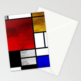 Luxury Mondrian Stationery Cards
