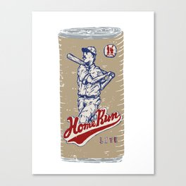 Home Run Lite Canvas Print