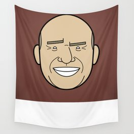 Faces of Breaking Bad: Hank Schrader Wall Tapestry