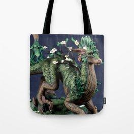 The Spring Tree Dragon Tote Bag
