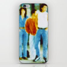 Waiting for the bus in the eighties iPhone & iPod Skin
