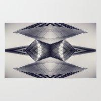 transformer Area & Throw Rugs featuring tRansformeR by Dirk Wuestenhagen Imagery