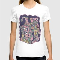 acid T-shirts featuring acid lunch by Andrea Moresco