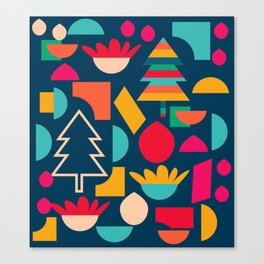 Funny Christmas games Canvas Print